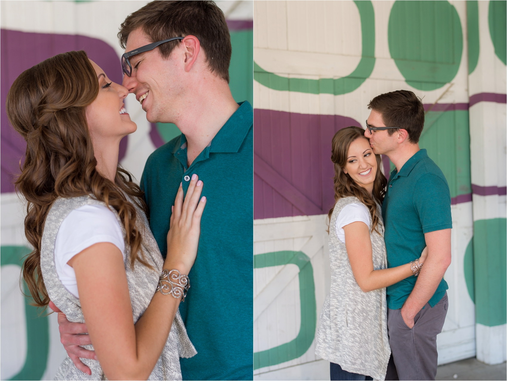 Meredith  amp  Austen   Dallas  TX Engagement Photography Hair and makeup by The Styling Stewardess