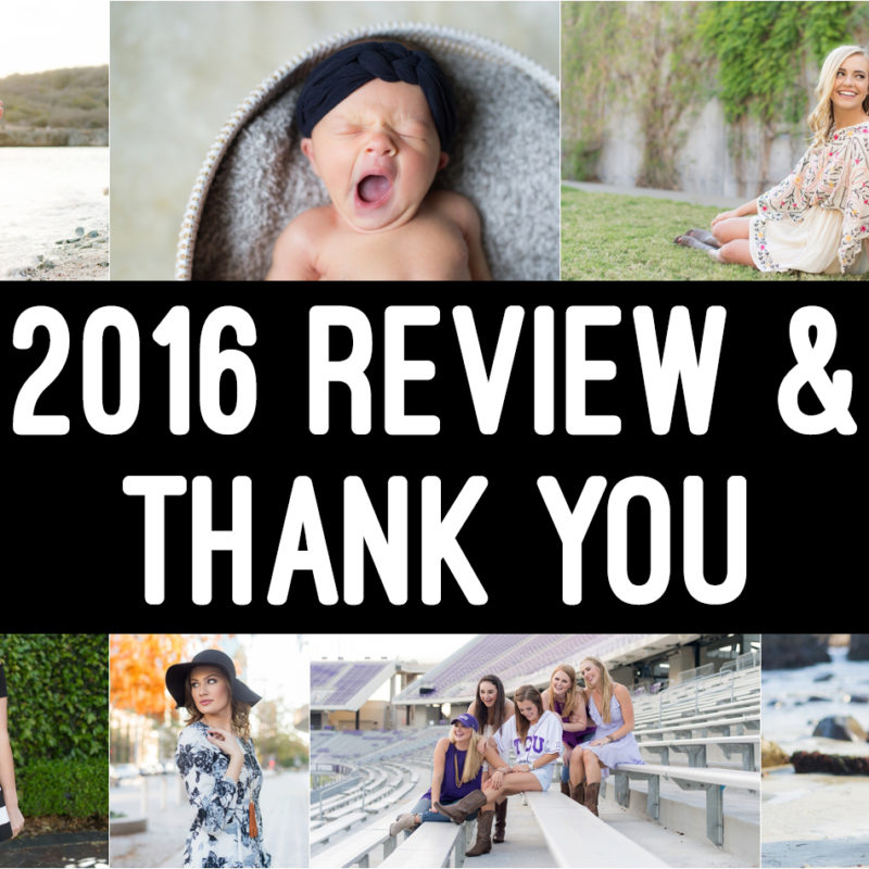 2016 Review  |  Thank You