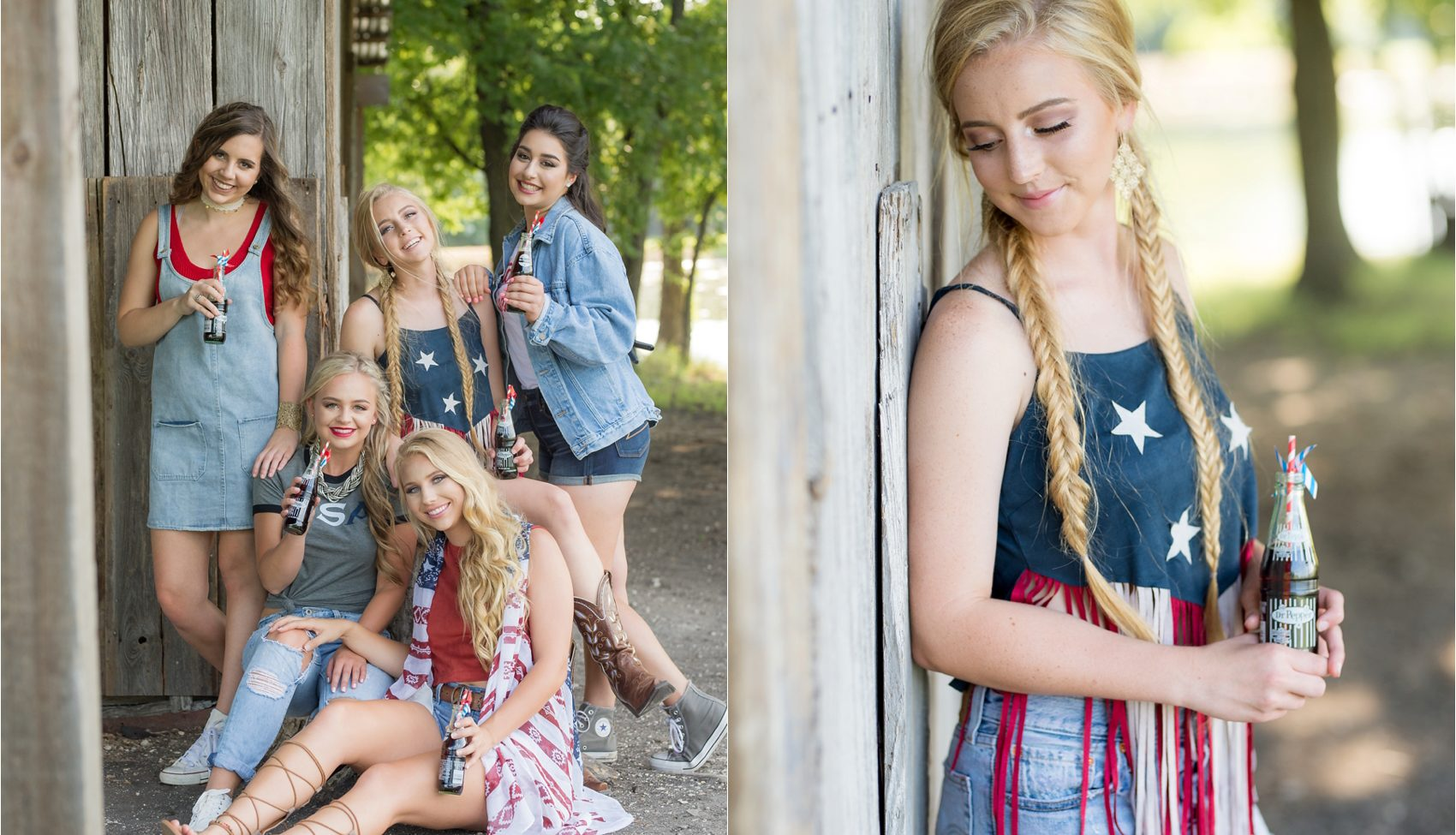 America Themed Shoot  |  PWSH Seniors '18  |  Allen, TX Senior Photography