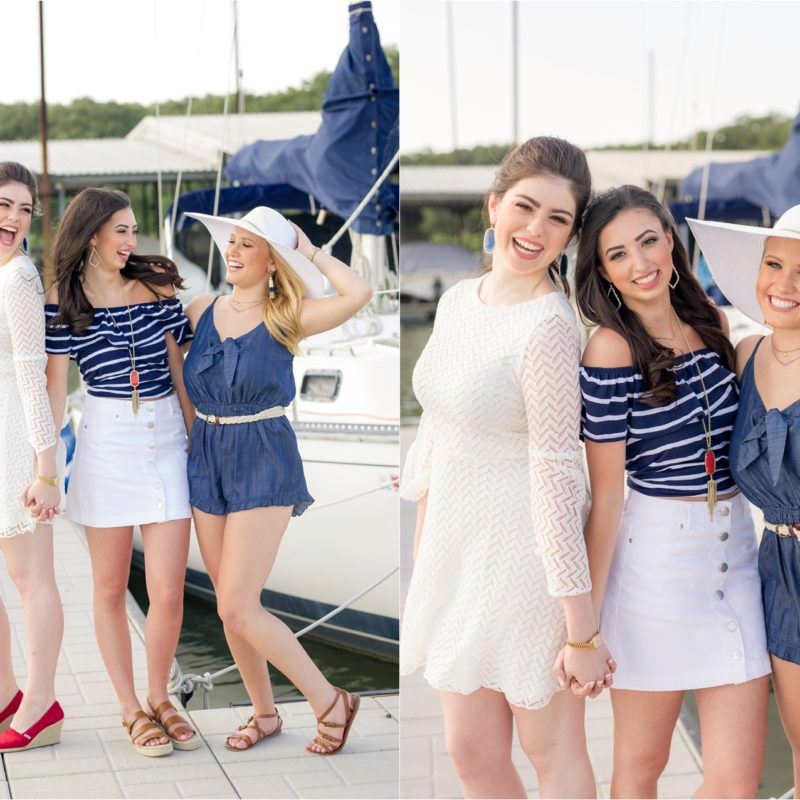 PSHS Dance Officers '17-'18  |  Nautical Themed Shoot  |  Plano, TX Senior Photography
