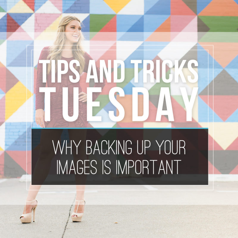 Tips & Tricks Tuesday  |  Why Backing Up Your Images is Important